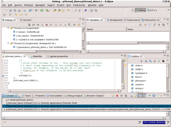 Debugging Remote Applications with Eclipse - Debugging