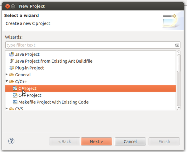 Creating New Projects with Eclipse - Creating New Projects