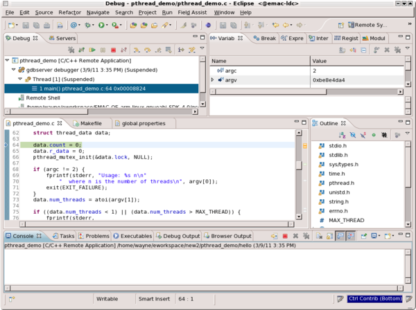 Debugging Remote Applications with Eclipse - Debugging Remote